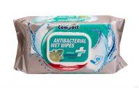 Ultra Compact Antibacterial nedves törlőkendő 100 db/csomag lime illat
