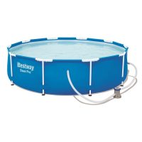Bestway MAUI Fémvázas medence szett vízforgatóval 305 x 76 cm