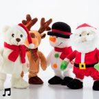 Táncoló és Éneklő Karácsonyi Figura