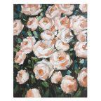 Olajfestmény Roses Fenyőfa (80 X 4 x 100 cm) MOST 54262 HELYETT 34802 Ft-ért!