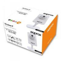 IP Kamera approx! APPIP03P2P VGA IR P2P micro SD Wifi Fehér MOST 24411 HELYETT 19979 Ft-ért!
