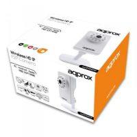 IP Kamera approx! APPIP03HDP2P HD IR P2P micro SD Wifi Fehér MOST 20346 HELYETT 17228 Ft-ért!