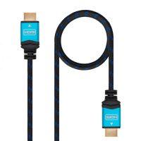 HDMI Kábel TooQ 10.15.37 V2.0 Fekete Kék