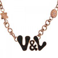 Női nyaklánc V&L VJ0265CO MOST 114014 HELYETT 28387 Ft-ért!
