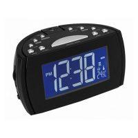 Rádiós Ébresztőóra LCD Projektorral Denver Electronics 224810 Fekete