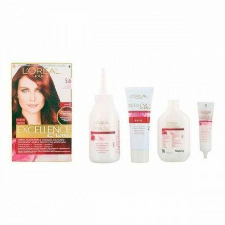 Tartós Hajfesték Excellence L'Oreal Make Up Mahagóni MOST 6596 HELYETT 4351 Ft-ért!