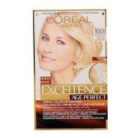 Tartós Öregedésgátló Hajfesték Excellence Age Perfect L'Oreal Expert Professionnel Világos aranyszőke MOST 5550 HELYETT 3689 Ft-ért!