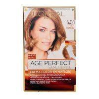 Tartós Öregedésgátló Hajfesték Excellence Age Perfect L'Oreal Expert Professionnel Sötétszőke MOST 5023 HELYETT 3627 Ft-ért!