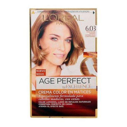 Tartós Öregedésgátló Hajfesték Excellence Age Perfect L'Oreal Expert Professionnel Sötétszőke MOST 6596 HELYETT 4783 Ft-ért!
