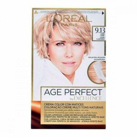 Tartós Öregedésgátló Hajfesték Excellence Age Perfect L'Oreal Make Up Szőke MOST 6596 HELYETT 4493 Ft-ért!