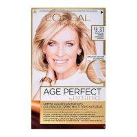 Tartós Öregedésgátló Hajfesték Excellence Age Perfect L'Oreal Expert Professionnel Világos aranyszőke MOST 5821 HELYETT 4111 Ft-ért!