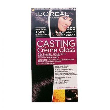 Ammóniamentes Hajfesték Casting Creme Gloss L'Oreal Make Up Ébenfekete MOST 6596 HELYETT 4046 Ft-ért!