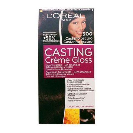 Ammóniamentes Hajfesték Casting Creme Gloss L'Oreal Make Up Sötétbarna MOST 6596 HELYETT 4046 Ft-ért!