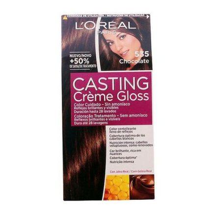 Ammóniamentes Hajfesték Casting Creme Gloss L'Oreal Expert Professionnel Csokoládé MOST 4549 HELYETT 3777 Ft-ért!