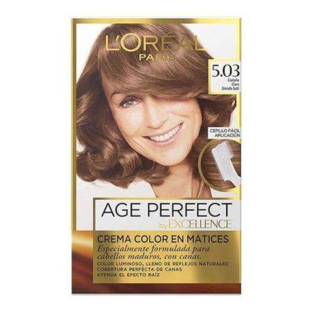 Tartós Hajfesték Excellence Age Perfect L'Oreal Expert Professionnel MOST 6596 HELYETT 4613 Ft-ért!