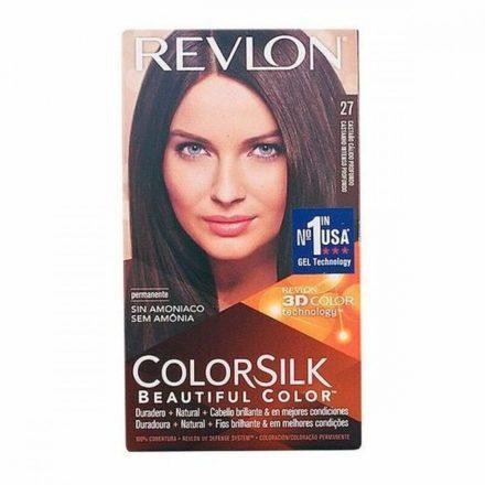 Ammóniamentes Hajfesték Colorsilk Revlon Mély meleg gesztenyebarna MOST 5032 HELYETT 2941 Ft-ért!
