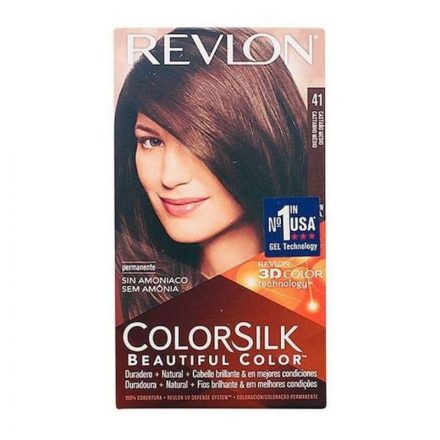 Ammóniamentes Hajfesték Colorsilk Revlon Barna MOST 3646 HELYETT 1509 Ft-ért!