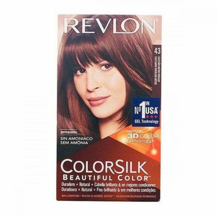 Ammóniamentes Hajfesték Colorsilk Revlon Aranybarna MOST 4621 HELYETT 2962 Ft-ért!