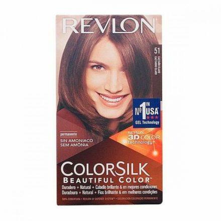 Ammóniamentes Hajfesték Colorsilk Revlon Világos barna MOST 3772 HELYETT 2480 Ft-ért!