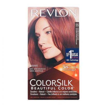 Ammóniamentes Hajfesték Colorsilk Revlon Világos vörösesbarna MOST 4495 HELYETT 2877 Ft-ért!