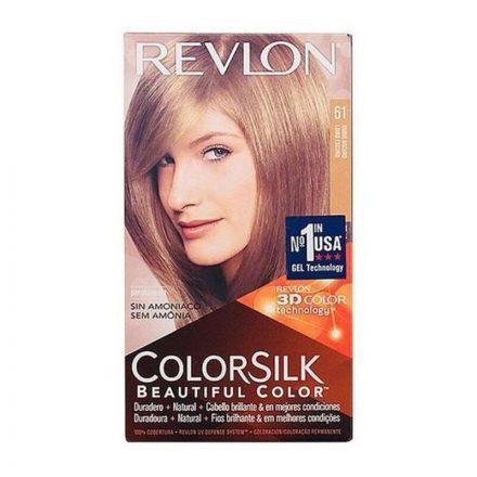 Ammóniamentes Hajfesték Colorsilk Revlon Sötétszőke MOST 4037 HELYETT 2657 Ft-ért!