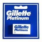 Csere Borotvapengék Platinum Gillette (5 uds) MOST 5516 HELYETT 2906 Ft-ért!
