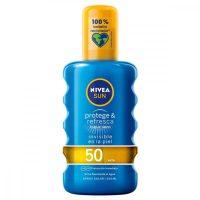 Napvédő Spray Protege & Refresca Nivea Spf 50 (200 ml) MOST 11933 HELYETT 7228 Ft-ért!