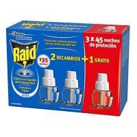 Szúnyog riasztó utántöltő Raid (3 uds) MOST 5966 HELYETT 2906 Ft-ért!