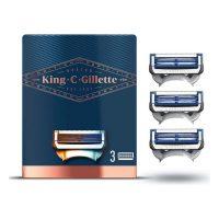 Pótalkatrész borotva pengéhez King C Gillette Neck Razor (3 uds) MOST 11933 HELYETT 7909 Ft-ért!