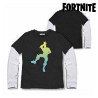 Gyermek hosszú ujjú póló Fortnite 75065 Fekete 10 év