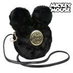 Shoulder Bag Mickey Mouse Fekete