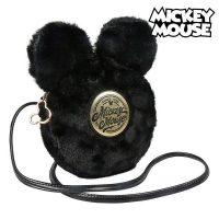 Shoulder Bag Mickey Mouse Fekete