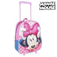 2 Iskolatáska Kerekekkel Minnie Mouse