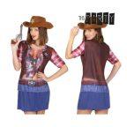 Póló Felnőtteknek Th3 Party 6674 Cowgirl