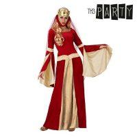 Felnőtt Jelmez Középkori hölgy Piros