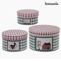 Dekoratív doboz Homania 7611 (3 uds) Karton MOST 11546 HELYETT 3900 Ft-ért!