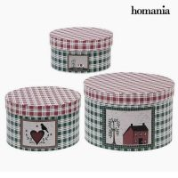 Dekoratív doboz Homania (3 uds) Préselt Papír MOST 5370 HELYETT 3012 Ft-ért!