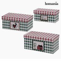 Dekoratív doboz Homania 7772 (3 uds) Karton MOST 2588 HELYETT 2275 Ft-ért!