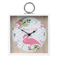 Falióra Flamingo Rózsaszín (20 X 5 x 20 cm) 110822 MOST 8368 HELYETT 3541 Ft-ért!