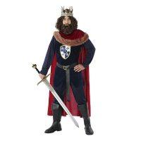Felnőtt Jelmez Középkori király Piros (4 Pcs)