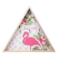 Fali akasztó Flamingo Rózsaszín (34,5 x 4 x 34,5 cm) 114868 MOST 5463 HELYETT 3068 Ft-ért!