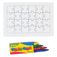Colouring Puzzle (24 pcs) 143301 MOST 590 HELYETT 319 Ft-ért!
