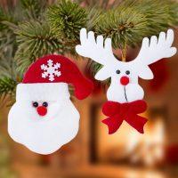 Karácsonyi dísz szett (2 pcs) 145105