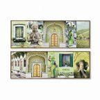 Kép Dekodonia Indiai Nő Lakkozott (2 pcs) (120 x 2 x 40 cm) MOST 59446 HELYETT 41301 Ft-ért!