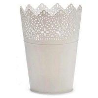 Virágcserép Fehér Műanyag Fehér MOST 1803 HELYETT 879 Ft-ért!