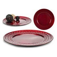 Asztaldísz Piros Műanyag (33 x 2 x 33 cm) MOST 3149 HELYETT 1531 Ft-ért!