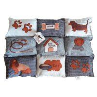 Kutya ágy 100 % poliészter (59 x 10 x 79 cm) MOST 10985 HELYETT 7044 Ft-ért!