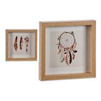 Kép Dreamcatchers MDF Fa (2,5 x 21,5 x 21,5 cm) MOST 8101 HELYETT 3940 Ft-ért!