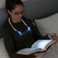 InnovaGoods LED Olvasólámpa Nyakra MOST 15502 HELYETT 1730 Ft-ért!