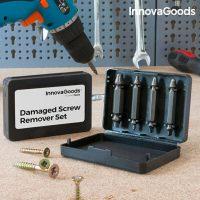 InnovaGoods Fúrók Sérült Csavarok Eltávolításához (4 darab) MOST 9301 HELYETT 2139 Ft-ért!